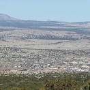 Looking towards Magdalena from the iste of Kelly New Mexico