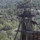 Ore Bin and Headframe - Kelly Mine