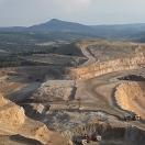 Cresson Open-Pit Mine Just Outside Victor