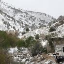 Approaching Ophir Nevada