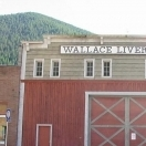 Downtown Wallace, Idaho - Stables.