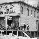 Hotel Belmont at Irwin, Colorado 1882
