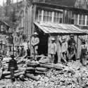 Forest Queen mine at Irwin, Colorado ca. 1880s