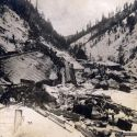 Mace, Idaho destruction after the 1910 avalanche