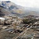 McGill, Nevada mid-1900s enhanced photo