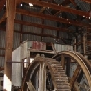 Hoist machinery - Tonopah Historic Mining Park