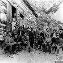 Boarding house at Buckhorn Mine - Ophir, Utah 1903