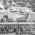 Owyhee Trade Dollar Mine - Silver City, Idaho ca.1900