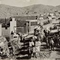 Looking East on Butte Avenue 1897 - Randsburg California