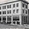Cook Bank building in Rhyolite 1909
