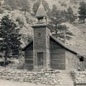Little Church in the Pines Salina, Colorado ca. 1910