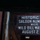 Site of Wild Bill Hickocks Murder