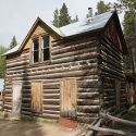 Historic cabin at St Elmo