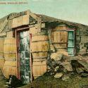 Tonopah Barrel House - Colorized Postcard