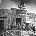 Blacksmith at Auburn Oregon