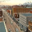 Butte Montana Postcard Illustration