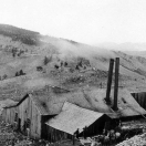 Mine Building Near Caribou
