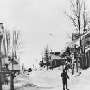 Skiing on Main Street - Cornucopia