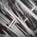 60 foot long timbers at close spacing necessitated by loose slate roof - Elkhorn Mine.