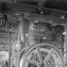 Hoist at the Wintergreen Mine
