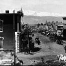 Looking West on Chestnut Street - Leadville Colorado