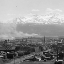 View of Mines and Leadville Colorado