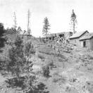 Flotation Mill - Lost Cabin Mine. Modoc County California.
