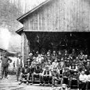 Sawmill crew - Monte Cristo Washington ca 1892