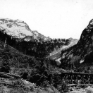 Monte Cristo viewed from the Sauk River ca 1920