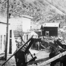 Miners Hauling Lumber - Silver Plume Colorado