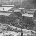 View of the Revenue Mill and mine complex in Sneffels Colorado.