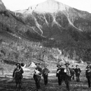 Band in Bridal Veil Park - Telluride Colorado 1886