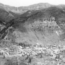 View of Telluride Colorado 1887
