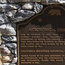 Site of historical observatory - Volcano, California