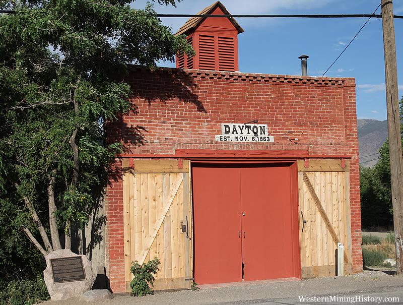 Historical fire house and Jail - Dayton Nevada