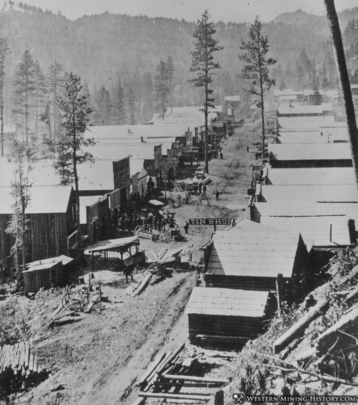 Early view of Deadwood 1876