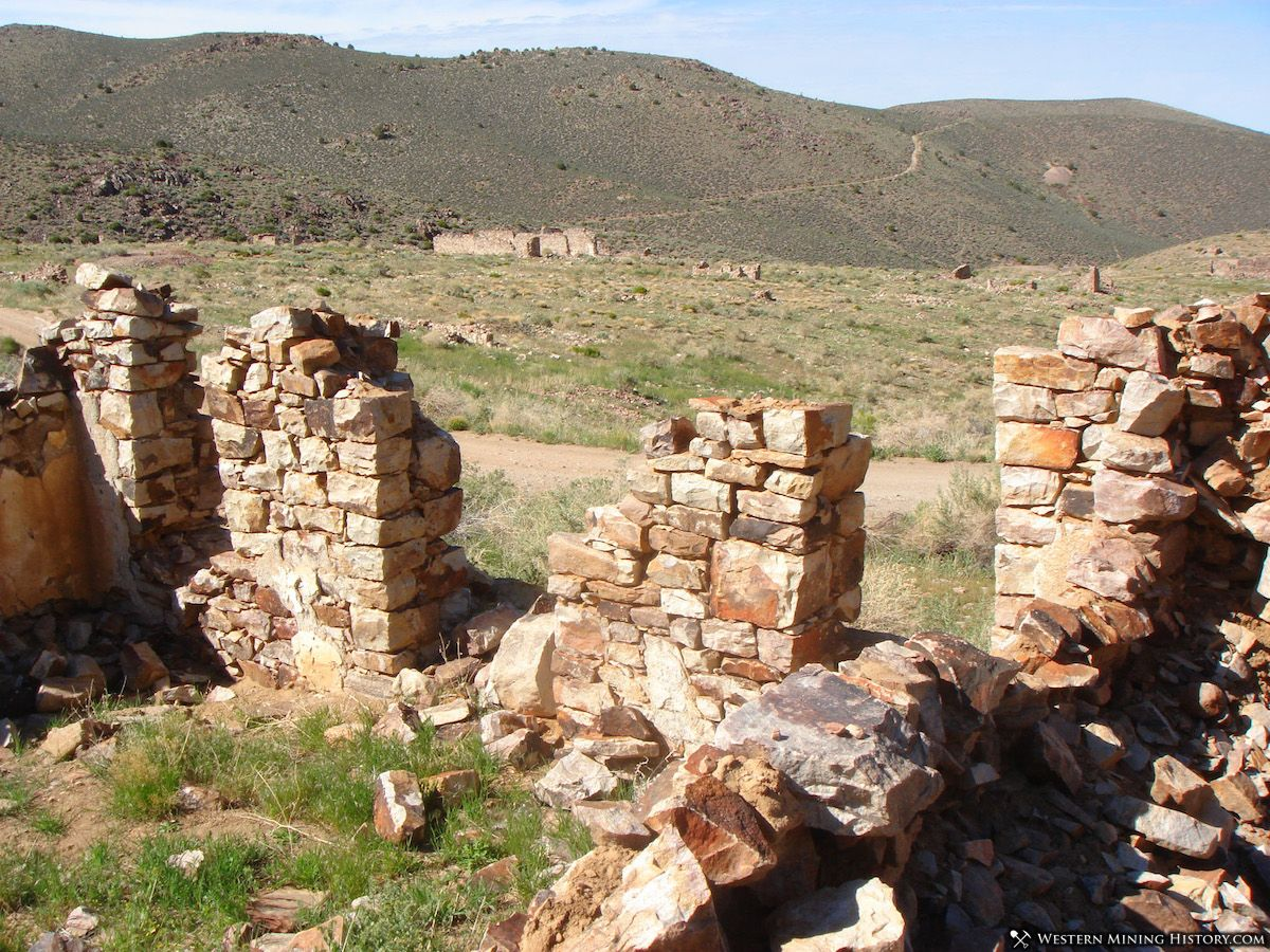 Ruins at Delamar Nevada