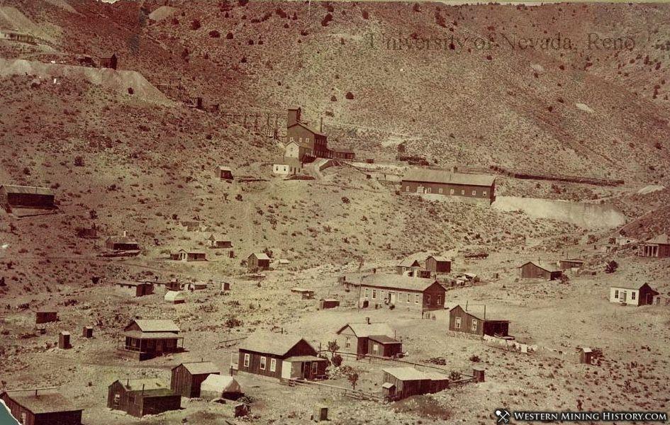 April Fool Mill 1900 - Delamar Nevada
