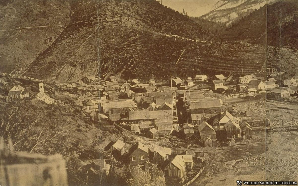 Downieville California ca 1860