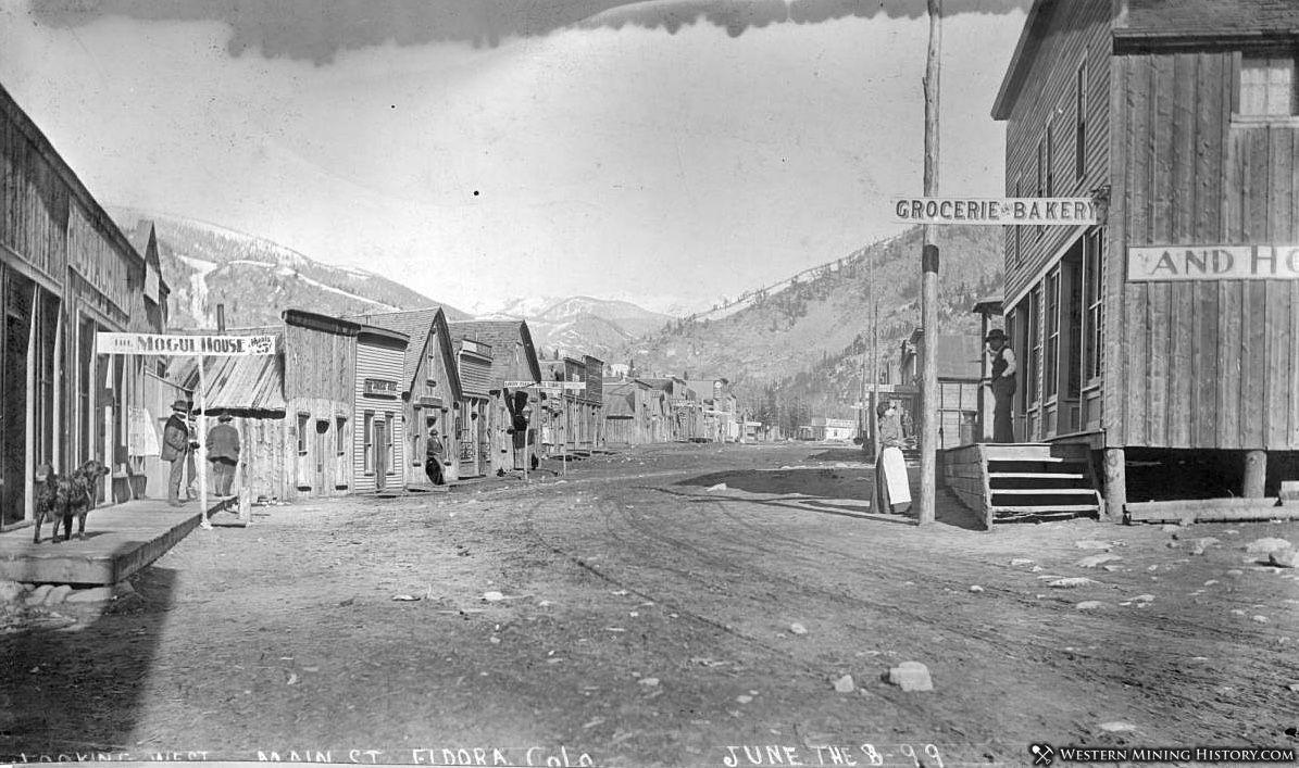 Main Street Eldora Colorado 1899