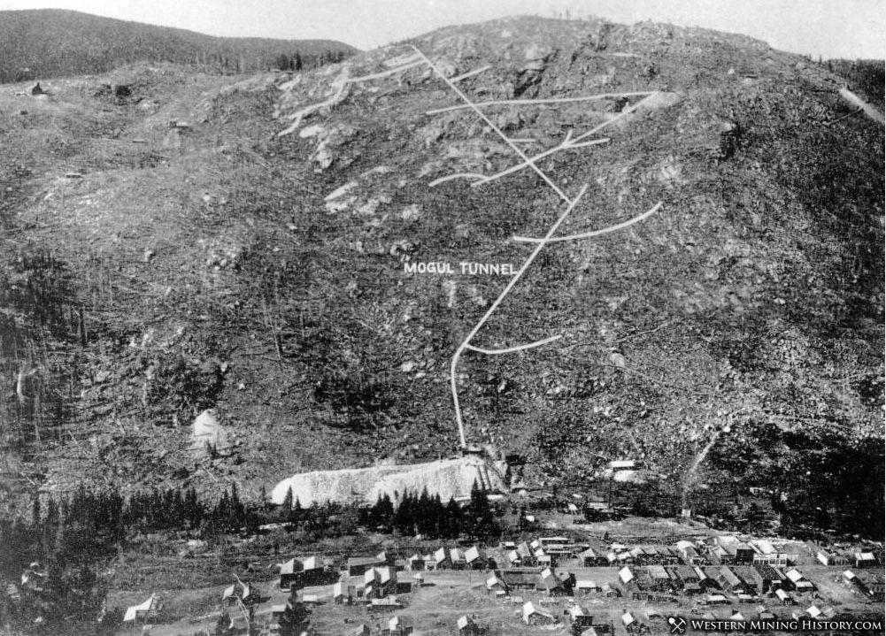 Mogul tunnel on Spencer Mtn at Eldora