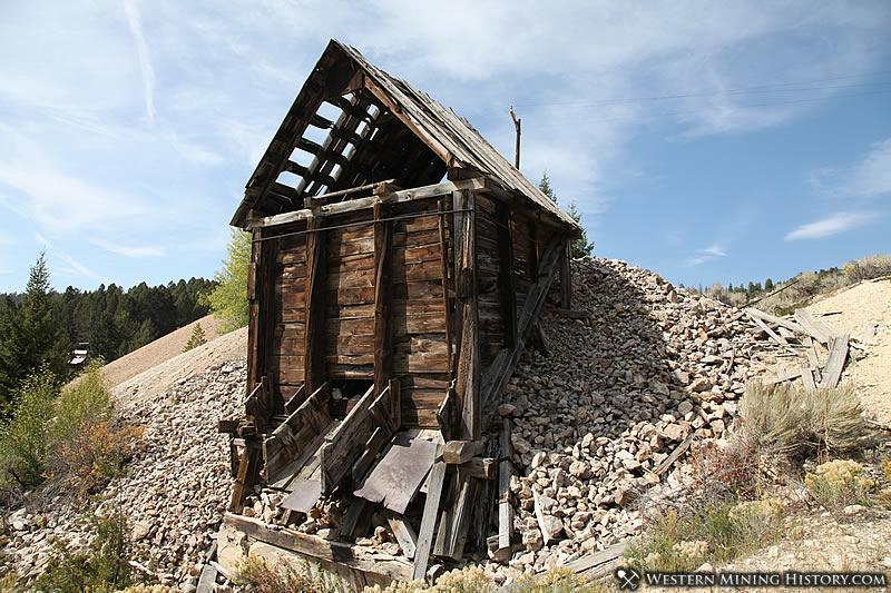 Old ore bin at Elkhorn Montana
