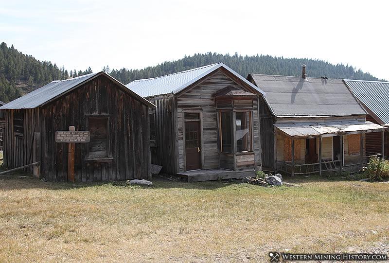 First school at Elkhorn Montana