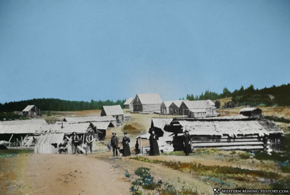 Colorized version of the Old Florence 1890s photo