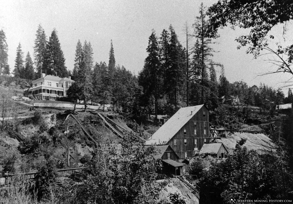 Goldbank Mine and Stowe Mansion - Forbestown California