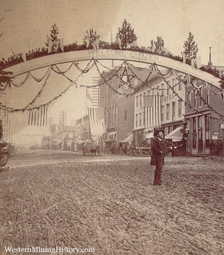 General Grant visits Leadville 1880