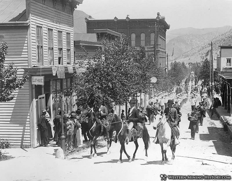1897 Parade - Georgetown, Colorado