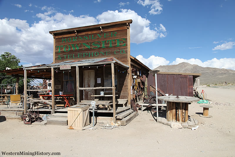 Historic saloon at Gold Point Nevada