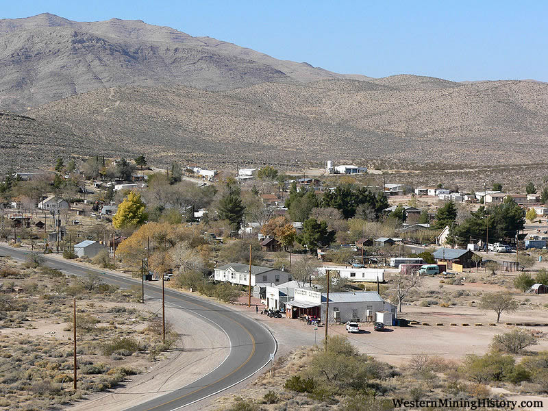 Modern view of Goodsprings Nevada