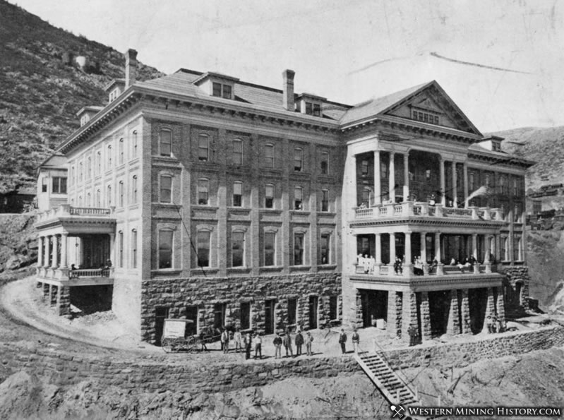 Montana Hotel in Jerome 1900